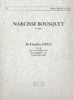 Narcisse Bousquet - 36 Studies 1851 - Volume 2 - Sheet Music - di-arezzo.co.uk