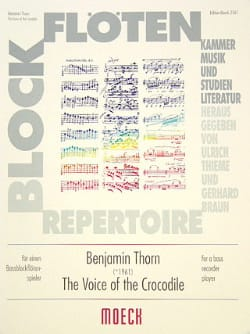 The voice of the crocodile Benjamin Thorn Partition laflutedepan
