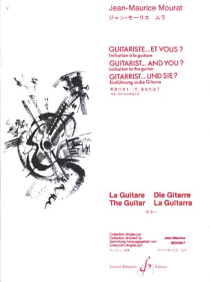 Jean-Maurice Mourat - Guitarist ... and you? - Sheet Music - di-arezzo.com