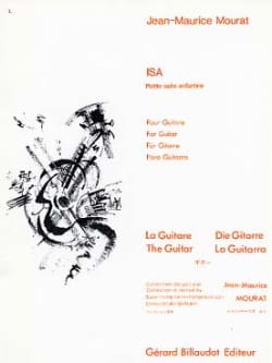 Isa - Jean-Maurice Mourat - Partition - Guitare - laflutedepan.com
