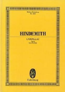 Paul Hindemith - Cardillac op. 39 - Partitur - Sheet Music - di-arezzo.co.uk