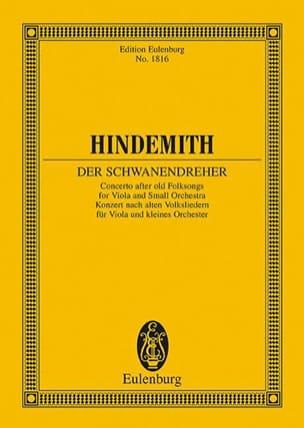 Der Schwanendreher - Conducteur Paul Hindemith Partition laflutedepan