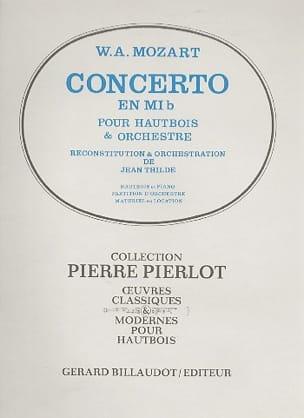 MOZART - Oboe Concerto in Major Eb - Partition - di-arezzo.com