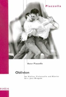 Oblivion - Violin cello piano Astor Piazzolla Partition laflutedepan