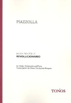 Astor Piazzolla - Revolucionario - Violin cello piano - Sheet Music - di-arezzo.co.uk