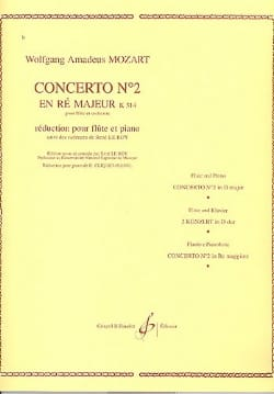 MOZART - Concerto No. 2 D Major KV 314 - Piano Flute - Sheet Music - di-arezzo.co.uk