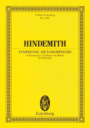 Paul Hindemith - Symphonic Metamorphosis - Partition - di-arezzo.fr