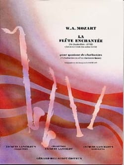 MOZART - The Magic Flute - Clarinet Quartet - Sheet Music - di-arezzo.co.uk