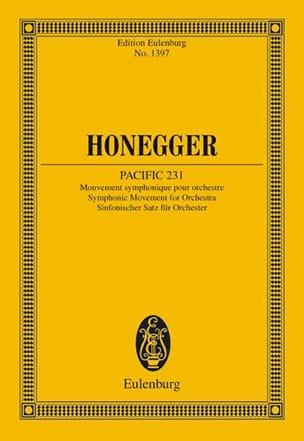 Arthur Honegger - Pacific 231 - Sheet Music - di-arezzo.com