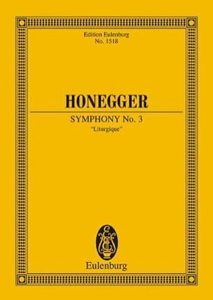Arthur Honegger - Symphony No. 3 Liturgical - Sheet Music - di-arezzo.com