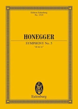 Arthur Honegger - Sinfonie N ° 5 - Sheet Music - di-arezzo.com