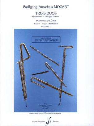 3 Duos (supplément KV 156 op. 75 Livre 1) – Volume 1 - laflutedepan.com