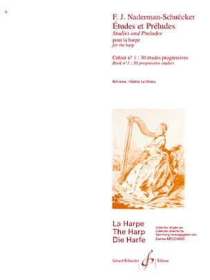 Naderman François-Joseph / Schuëcker E. - Studies and Preludes - Volume 1 - Sheet Music - di-arezzo.com