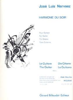 Harmonie du soir - Jose-Luis Narvaez - Partition - laflutedepan.com