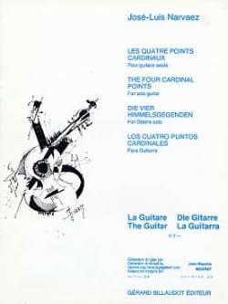 Jose-Luis Narvaez - Les quatre points cardinaux - Partition - di-arezzo.fr
