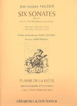 6 Sonates op. 9 - Volume 2 – Flûte Bc - laflutedepan.com