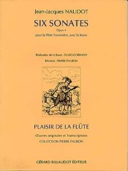 6 Sonates op. 4 – Flûte et Bc - Jean-Jacques Naudot - laflutedepan.com