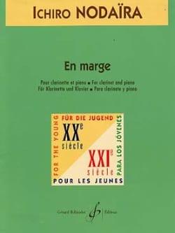 En marge - Ichiro Nodaira - Partition - Clarinette - laflutedepan.com