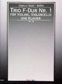 Trio F-Dur Nr. 1 op. 18 SAINT-SAËNS Partition Trios - laflutedepan