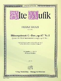 Bläserquintett G-Dur op. 67 Nr. 1 - Stimmen - laflutedepan.com