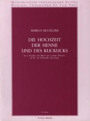 Die Hochzeit der Henne und des Kuckucks Marco Uccellini laflutedepan
