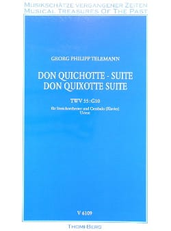 Georg P. Telemann - Don Quichotte, Suite - Conducteur - Partition - di-arezzo.fr