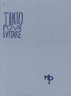 Maurice Ohana - Tiento for guitar - Sheet Music - di-arezzo.com