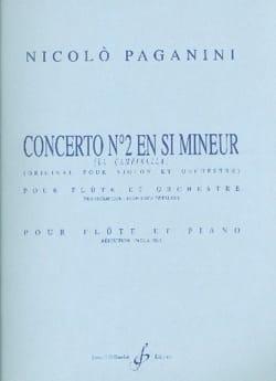 Concerto N° 2 en Si Mineur - Niccolo Paganini - laflutedepan.com