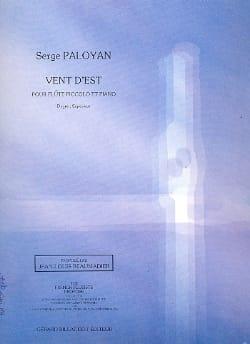Serge Paloyan - East wind - Sheet Music - di-arezzo.com