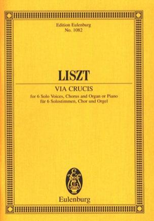 Via Crucis - Franz Liszt - Partition - Petit format - laflutedepan.com