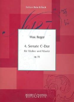 Max Reger - Sonata No. 4 C-hard op. 72 - Sheet Music - di-arezzo.co.uk