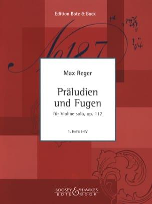 Präludien und Fugen op. 117, Heft 1 - Max Reger - laflutedepan.com