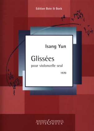 Isang Yun - Glissées - Partition - di-arezzo.fr