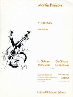 Martin Parison - 5 Danzas - Sheet Music - di-arezzo.co.uk