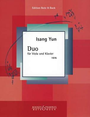Duo 1976) - Isang Yun - Partition - Alto - laflutedepan.com