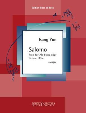 Isang Yun - Salomo - Partition - di-arezzo.fr