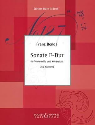 Franz Benda - Sonate F-Dur - Partition - di-arezzo.fr