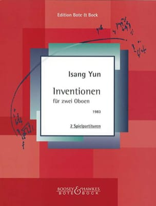 Isang Yun - Inventionen - 2 Oboen - Sheet Music - di-arezzo.co.uk
