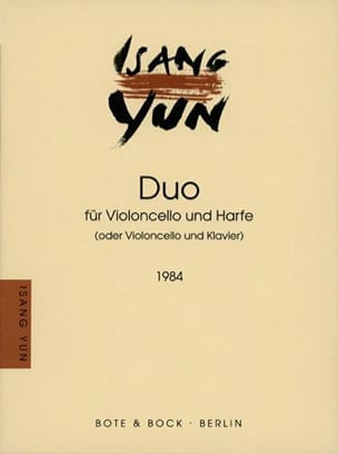 Duo 1984 Isang Yun Partition Violoncelle - laflutedepan