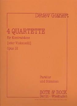 4 Quartette für Kontrabässe oder Violoncelli - laflutedepan.com