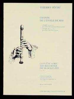 Thierry Pécou - Chants de l'étoile de Mai - Partition - di-arezzo.fr