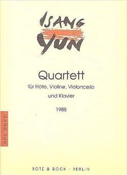 Quatuor 1988) - Isang Yun - Partition - Quatuors - laflutedepan.com