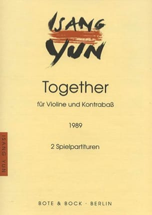 Together - Isang Yun - Partition - Duos - laflutedepan.com