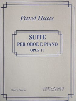 Pavel Haas - Suite per oboe e piano op. 17 - Partition - di-arezzo.fr