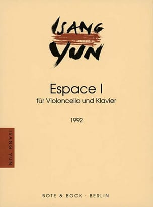 Isang Yun - Espace I (1992) - Partition - di-arezzo.fr