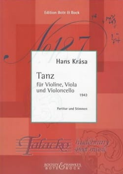 Hans Krása - Tanz - Partitur Stimmen - Sheet Music - di-arezzo.co.uk