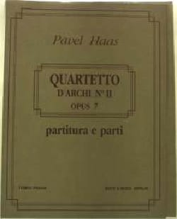 Pavel Haas - Streichquartett Nr. 2 Von den Affenbergen op. 7 - Partition - di-arezzo.fr