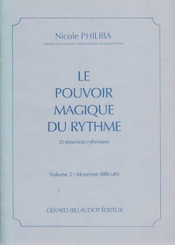 Nicole Philiba - The Magic Power of Rhythm Volume 3 - Sheet Music - di-arezzo.co.uk