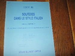 Nicole Philiba - Solfèges style italien – Volume 5 - Elève - Partition - di-arezzo.fr