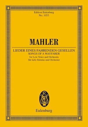 Lieder eines fahrenden Gesellen Gustav Mahler Partition laflutedepan